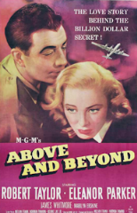 Above and Beyond 1952 DVD - Robert Taylor / Eleanor Parker